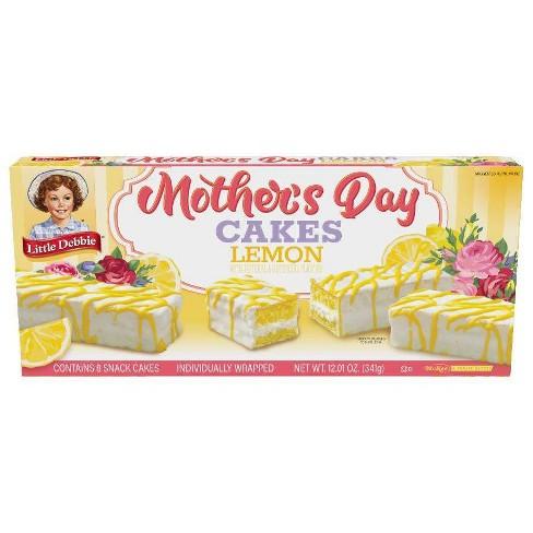 Little Debbie Mother's Day Cake Lemon - 12.01oz - image 1 of 1