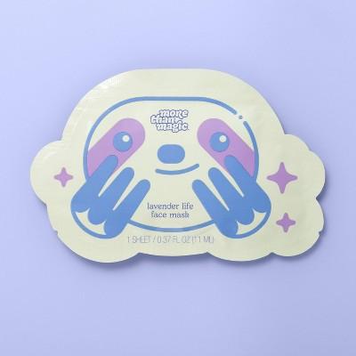 Sheet Face Mask - 0.37 fl oz - More Than Magic™ Lavender Life