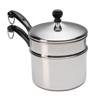 Farberware Classic 2Qt Saucepan with Double Boiler