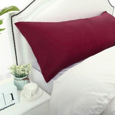 1 Pc Body 1800 Series Soft Brushed Microfiber Pillowcase Wine - PiccoCasa