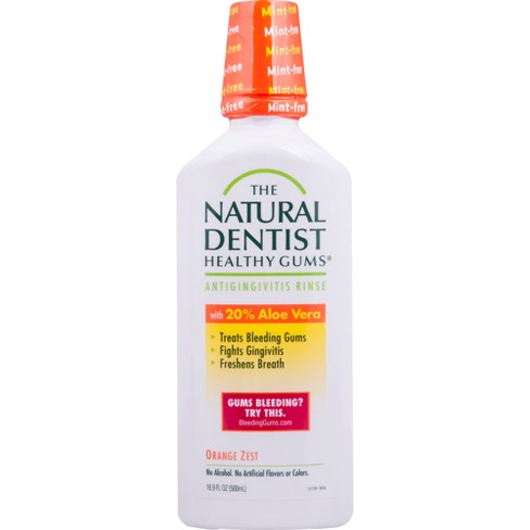 The Natural Dentist Healthy Gums Antigingivitis Rinse Orange Zest - 16.9floz - image 1 of 2