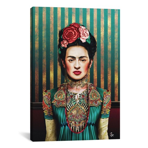 "18""x12"" Frida by Giulio Rossi Unframed Wall Canvas Print - iCanvas - image 1 of 2"