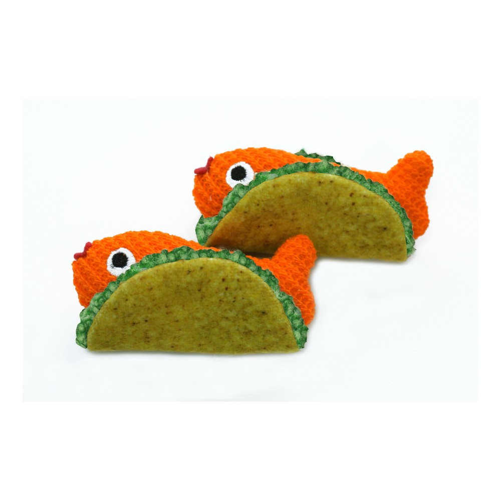 Fish Tacos Cat Toy Set - Boots & Barkley, Multi-Colored