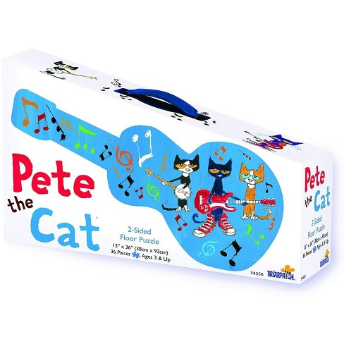 University Games Pete the Cat Suitcase 2-Sided Floor Puzzle | 36 Pieces - image 1 of 3