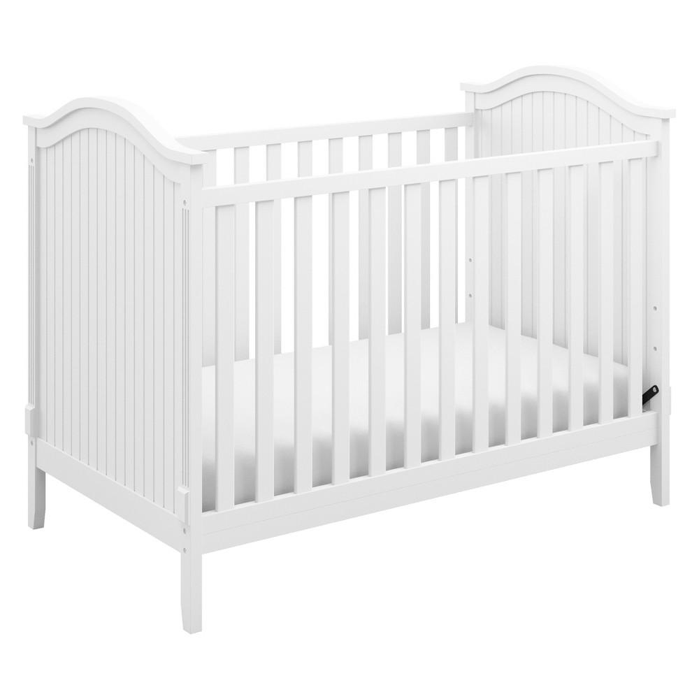 Storkcraft Monterey 3-in-1 Convertible Crib - White
