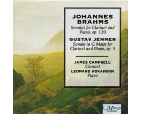 James Campbell - Brahms:Clarinet Sonatas (CD) - image 1 of 1