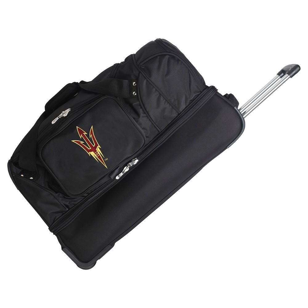 NCAA Arizona State Sun Devils 27'' Rolling Drop Bottom Duffel Bag