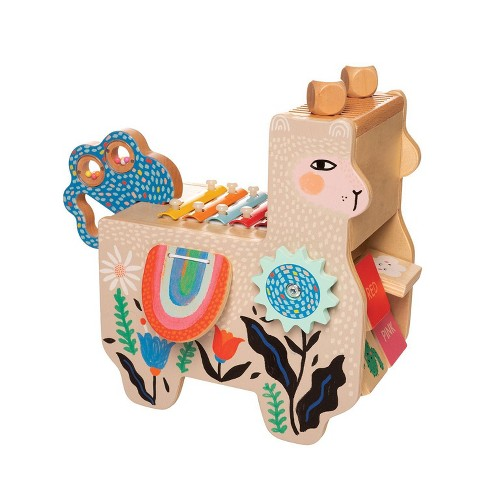 The Manhattan Toy Company Musical Llama Wooden Instrument - image 1 of 4