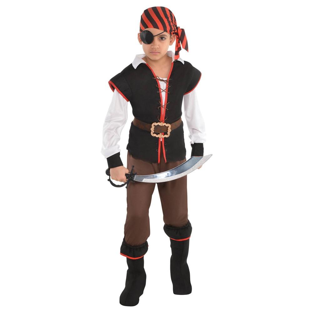 Kids 39 Rebel Of The Sea Halloween Costume M