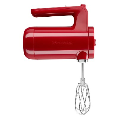 KitchenAid Variable-Speed Cordless Hand Mixer - Empire Red