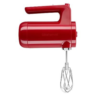 KitchenAid Variable-Speed Cordless Hand Mixer - Empire Red