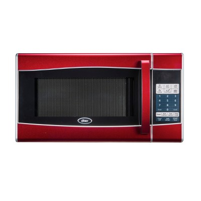 Oster 0.9 Cu. Ft. 900 Watt Microwave Oven - Red - OGXE0904