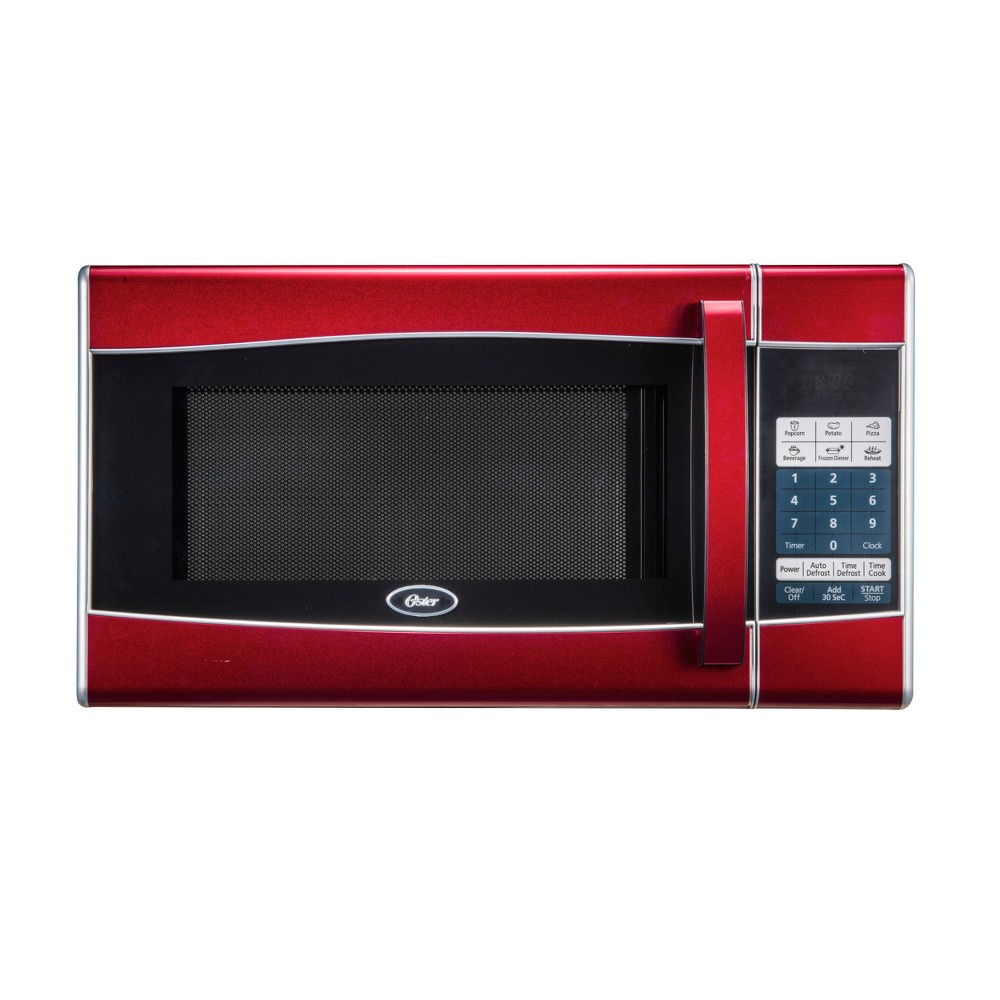Oster 0.9 Cu. Ft. 900 Watt Microwave Oven – Red MW9338SB 17279252