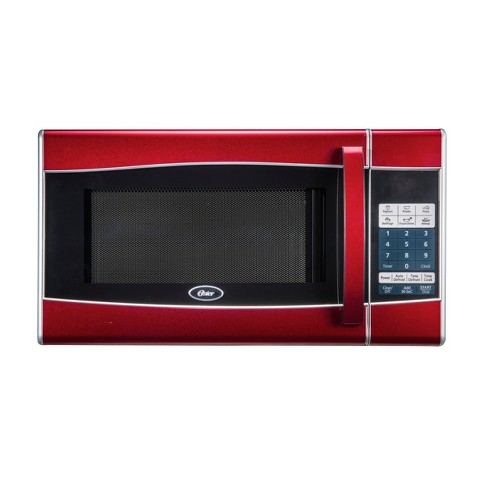 Oster 0.9 Cu. Ft. 900 Watt Microwave Oven - Red - OGXE0904 - image 1 of 4