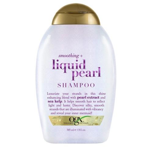 OGX Smoothing + Liquid Pearl Shampoo - 13 fl oz - image 1 of 3