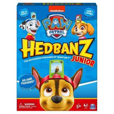 Hedbanz Junior Paw Patrol Game