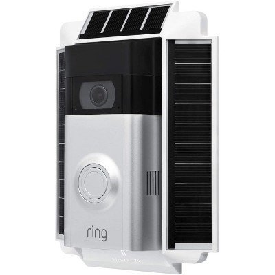 Wasserstein 0.5 Watt Solar Charger Mount Compatible with Ring Video Doorbell 2 (NOT Compatible with Ring Video Doorbell 2nd Gen 2020 Version)