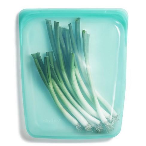 Stasher Reusable Food Storage Half Gallon Bag - Aqua - image 1 of 4