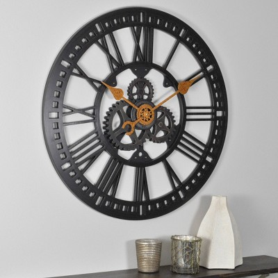 FirsTime Roman Gear Wall Clock Bronze