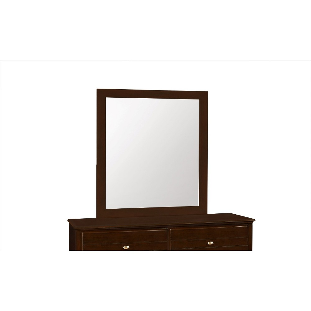 Image of Carrington Dresser Mirror Cappuccino - Private Reserve, Brown