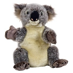 Lelly National Geographic Koala Hand Puppet