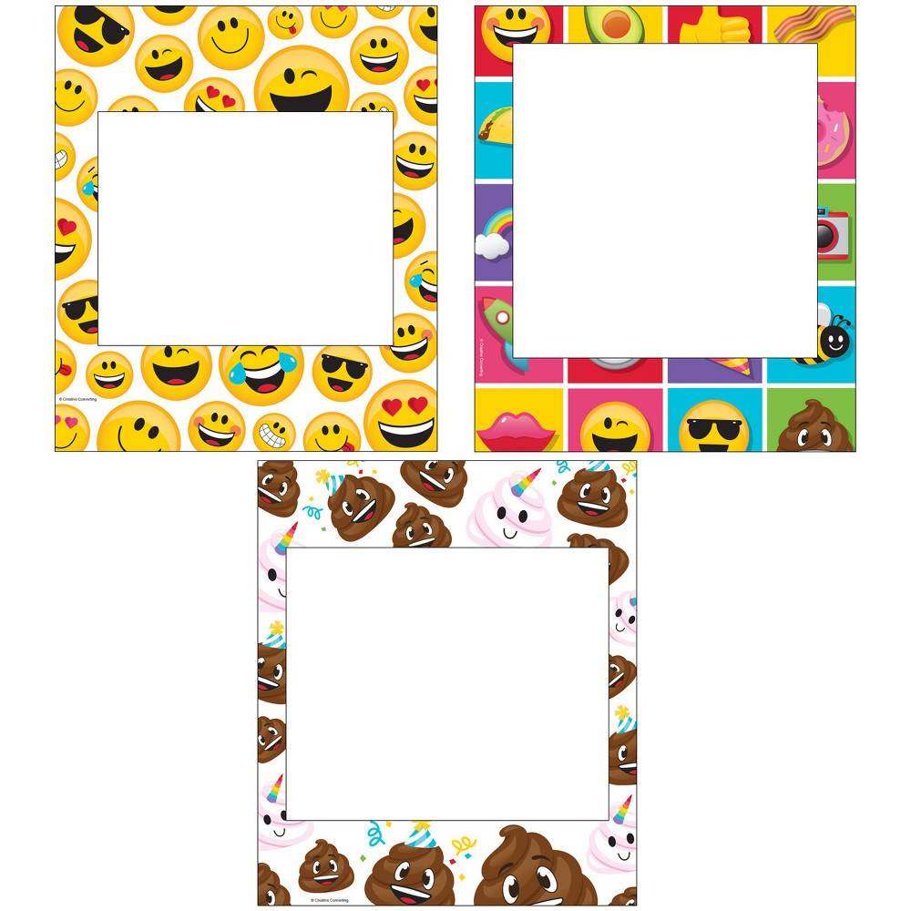 3ct Show Your Emojicons Photo Frames