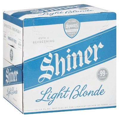 Shiner® Light Blonde Beer - 12pk / 12oz Bottles
