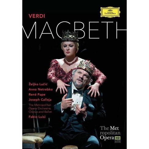 Met Opera: Verdi - Macbeth (DVD) - image 1 of 1