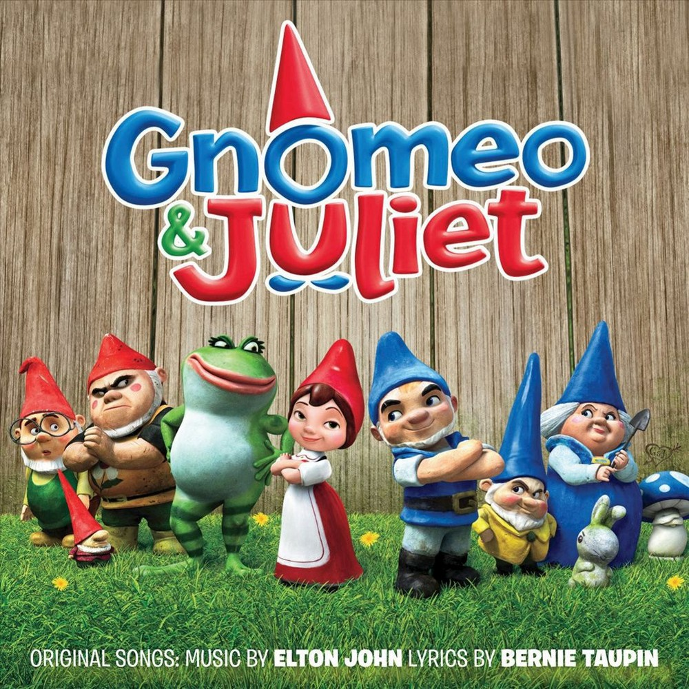 Gnomeo and Juliet (CD), Pop Music