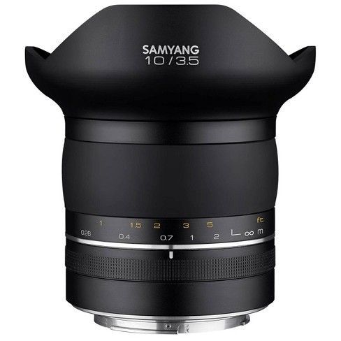 Samyang XP 10mm F3.5 Wide Angle Lens for Canon EF Mount with AE (Auto Exposure) - image 1 of 2