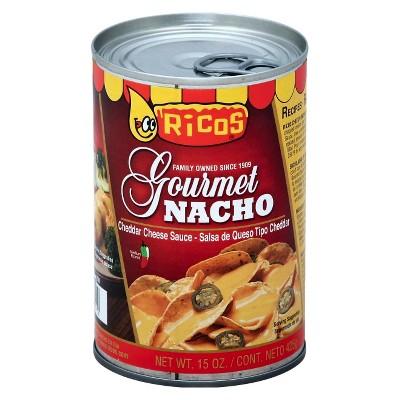Rico's Gourmet! Nacho Cheddar Cheese Sauce 15oz