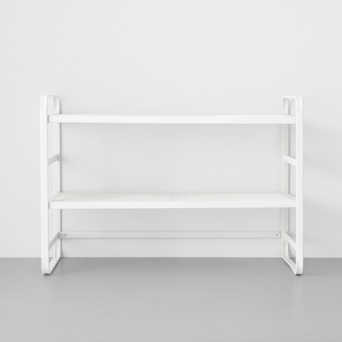 Two Tier Wire Mesh Shoe Rack - Made By Design™ - image 1 of 4