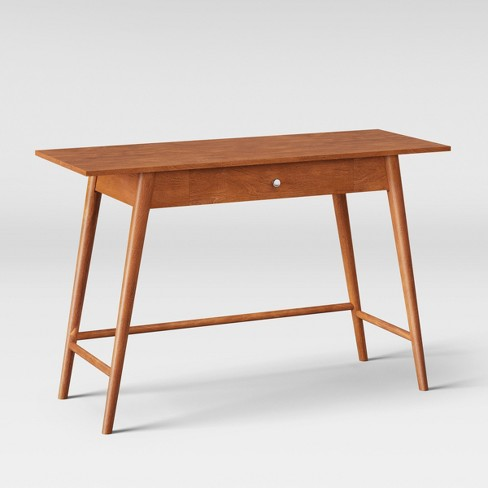 Amherst Mid Century Modern Desk Console Table Brown Project 62 Target