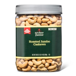 Salted Roasted Cashews - 30oz - Archer Farms™