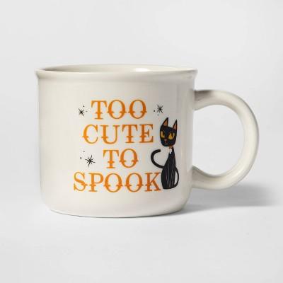 15oz Stoneware Too Cute To Spook Halloween Mug - Hyde & EEK! Boutique™