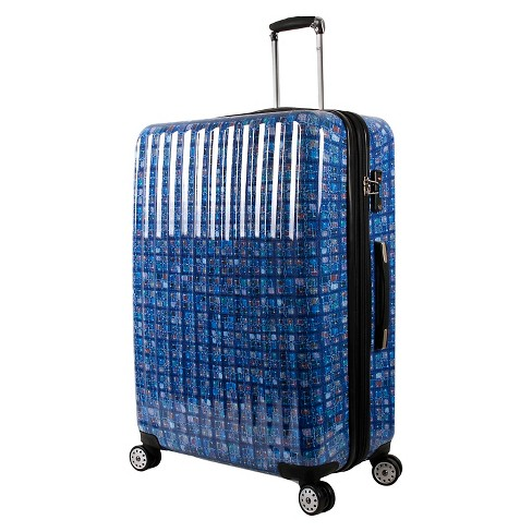 "J World 24"" Polycarbonate Hard-sided Spinner Suitcase - Logics Blue - image 1 of 6"
