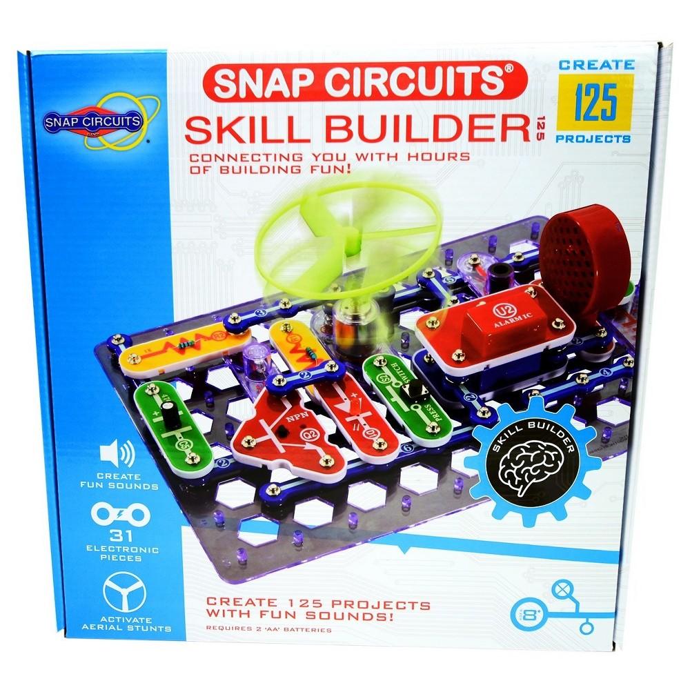 Snap Circuits Upc Barcode Rc Rover 756619011868 Circuit Skill Builder125