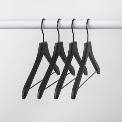 4pk Wood Hanger Black - Made By Design™