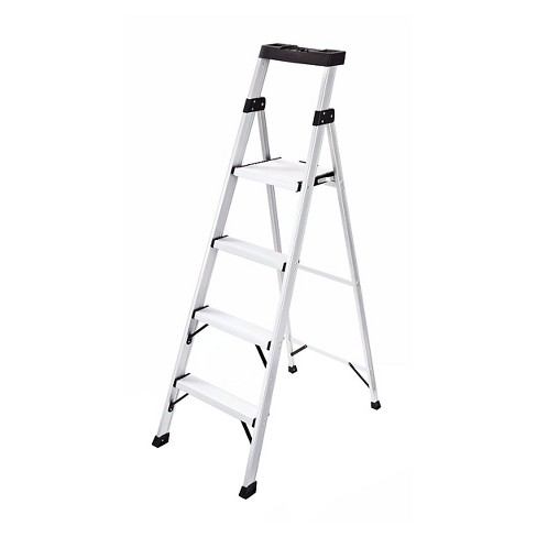 Rubbermaid 5.5ft Aluminum Ladder with Project Top - image 1 of 4