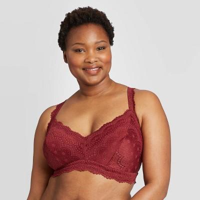 Women's Plus Size Lace Bralette - Auden™