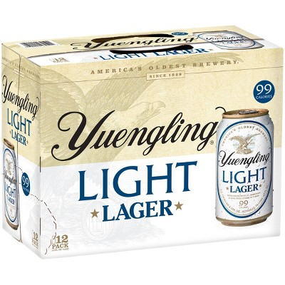 Yuengling Light Lager Beer - 12pk/12 fl oz Cans
