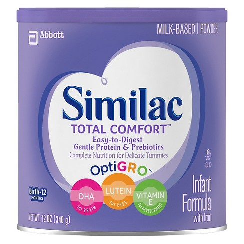 Similac Total Comfort Infant Formula Powder with Iron - 12oz - image 1 of 4