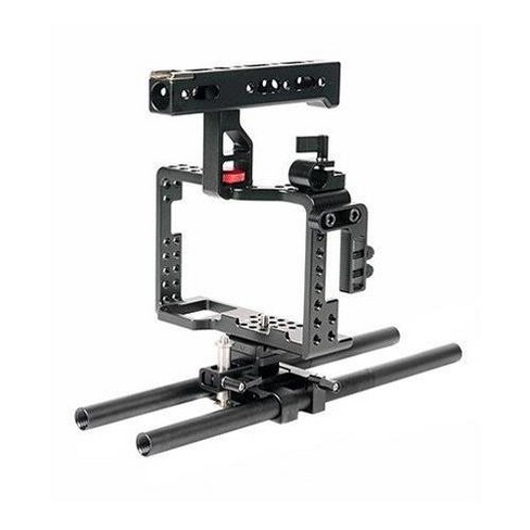 Came-TV Cage Rig with Top Handle and 15mm Rods for Sony a7R II/a7S II Cameras - image 1 of 1