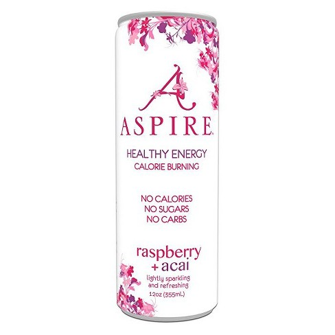 Aspire Raspberry + Acai Energy Drink - 12 fl oz Can - image 1 of 1