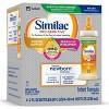 Similac Pro-Sensitive Non-GMO Infant Formula with Iron Bottles - 4ct/2 fl oz Each - image 2 of 4