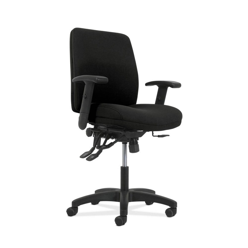 Image of Network Mid Back Task Chair Black - HON