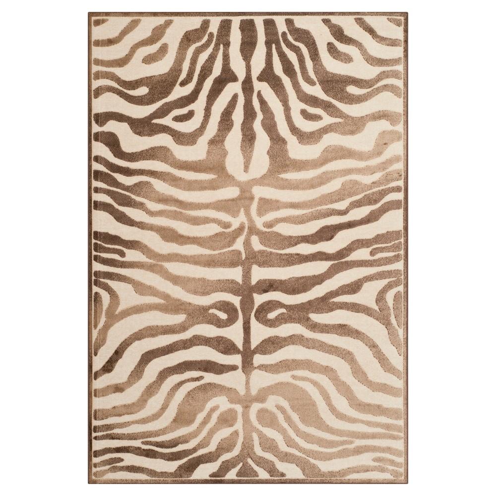 Piana Area Rug - Creme / Brown (8' X 11' 2) - Safavieh, Ivory/Brown