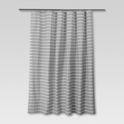 Stripe Shower Curtain Radiant Gray - Threshold™