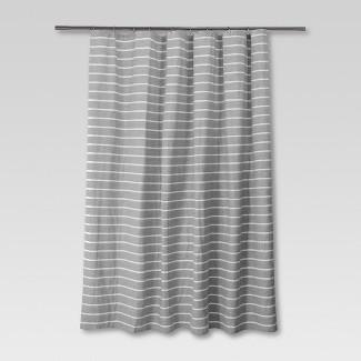 Stripe Shower Curtain Radiant Gray - Threshold™