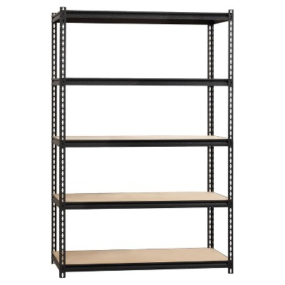 Iron Horse Riveted Shelving 5 Shelf 2300 LB 72 H x 48 W x 24 D